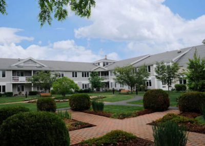 Applewood Retirement Community Court Yard - Amherst, Massachusetts