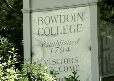 Bowdoin College, Brunswick Maine