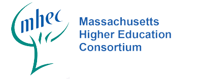 MHEC Logo is a silhouette of a green tree with blue letters of wording.